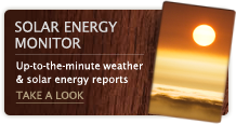Solar Energy Monitor – Up-to-the-minute weather & solar energy reports.