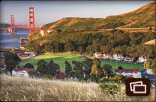view of Cavallo Point the lodge at the Golden Gate