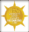 Travel + Leisure World's Best Award Recognized 2010