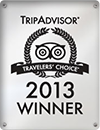 2013 TripAdvisor Travelers' Choice Awards