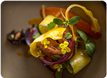 Sierra Mar cuisine with locally sourced seasonal ingredients