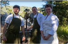 Executive Chef Elizabeth Murray and team