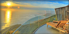 Time-lapse video of the Pacific Ocean views from the deck of the Cliff House